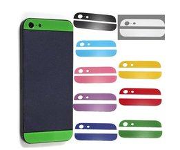 Vervangend Glas Boven- en Onderkant voor iPhone 5