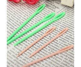 6 Plastic Stopnaalden