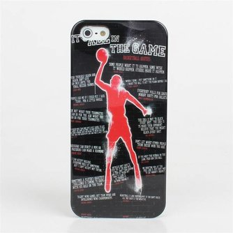 Hoesjes voor iPhone 5 & 5S met Basketbal Design