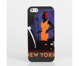 New York Hoesje Voor iPhone 5 &5S