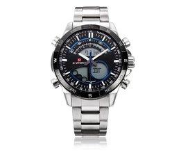 Naviforce Heren Horloge Dual Display
