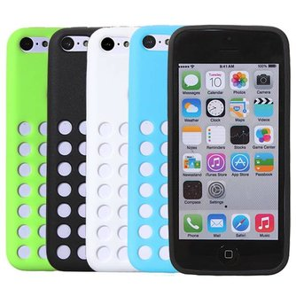 Siliconen Hoesje iPhone 5C