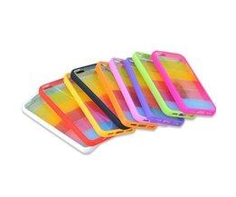 Regenboog Hardcase Voor iPhone 5 & 5S