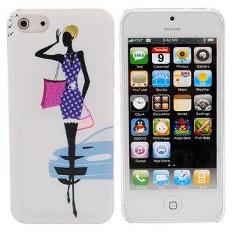 Hoesjes voor iPhone 5 met Vrouw Design