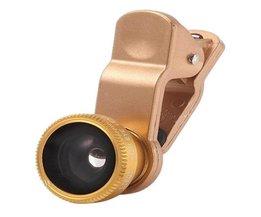 Camera Lens voor Smartphones en Tablets 3 in 1