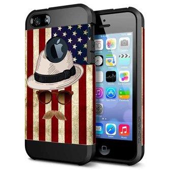Hoes voor iPhone 5 & 5S met Amerika Design