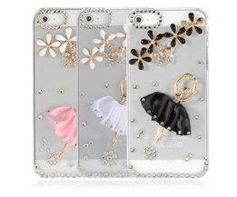 Hoesje Met Diamanten Voor iPhone 5 & 5S