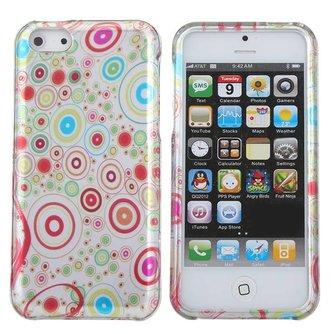 Telefoonhoesje voor iPhone 5C met Cirkels Design