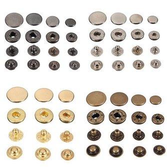 Decoratieve Knopen van Metaal voor Kleding
