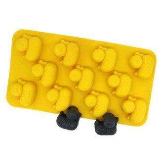 Eendjes IJsblokjesvorm van Silicone