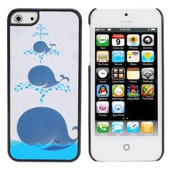 Hoesje voor iPhone 5 met Walvissen Design