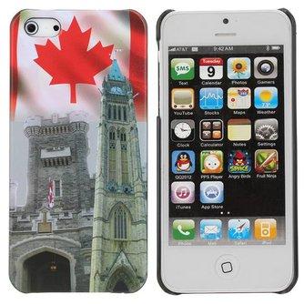 Hoesje voor iPhone 5 met Canada Design