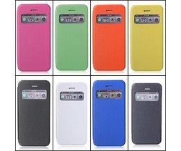 Flip Case Voor iPhone 5 & 5S