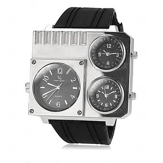 Horloge Met Vierkante Kast