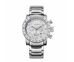 MEGIR Horloge Met Chronograaf