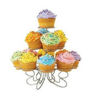 Sierlijke Cupcake Muffin Standaard 13 Voudig