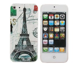 Hard Case Met Eiffeltoren Voor iPhone 5 & 5S