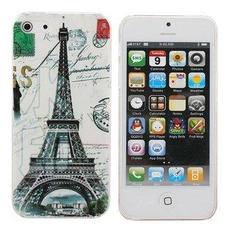 Hard Case Met Eiffeltoren Voor iPhone 5 & 5S