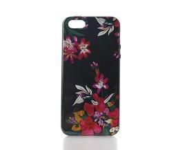 Hoes Voor iPhone 5 & 5S Met Bloem Patroon