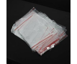 100 Hersluitbare Plastic Zakjes