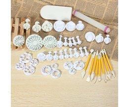 Taartdecoratie Maken Set 46Stuks