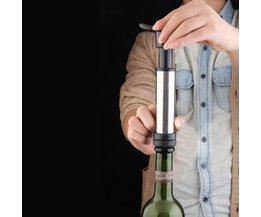 Vacuümpomp Wijn en 2 Wijnstoppers