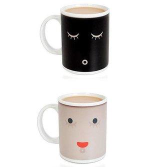 Koffiemok met Bewegende Smiley