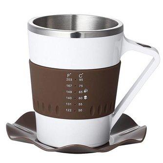 Koffie Mok Met Temperatuurmeter