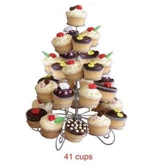 Cupcake Standaard 5-Laags Metaal