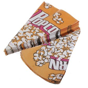 Popcorn Zak 100 Stuks