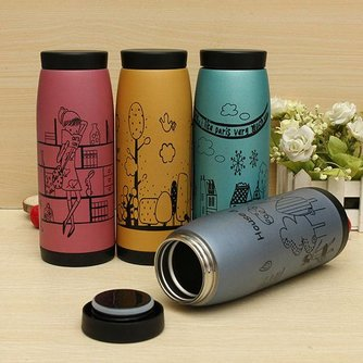 Thermosfles 500ml RVS Cartoon