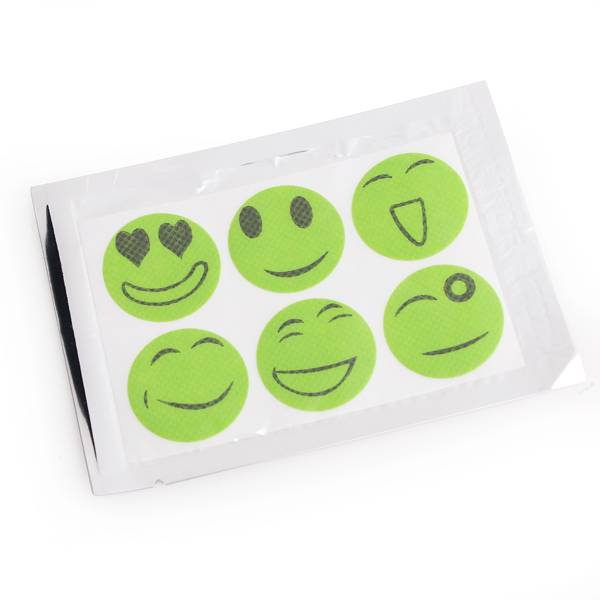 Anti muggen smiley sticker i myxlshop supertip - Anti muggen gordijn ...