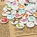 100 Houten Knopen Alfabet