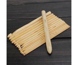 Sterke Bamboe Breinaalden 16 Stuks