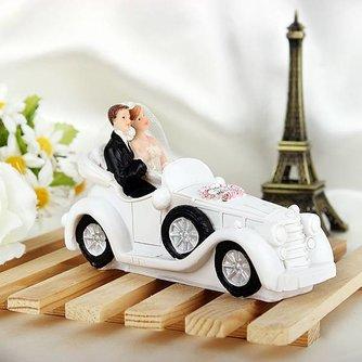 Romantische Taarttopper voor Bruiloft