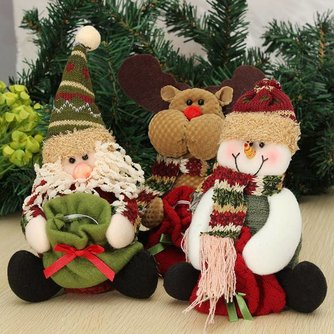 Kerstdecoratie Snoepzak Pop