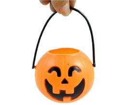 Halloween Mandje Pompoen