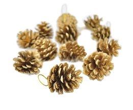 12 Denneappels Kerstboomversiering