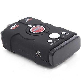 V8 Radardetector met Engels Gesproken Waarschuwing