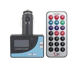 Auto FM Transmitter MP3 Speler Draadloos met Afstandsbediening