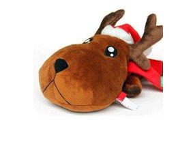 Rendier Knuffel Voor Kerst
