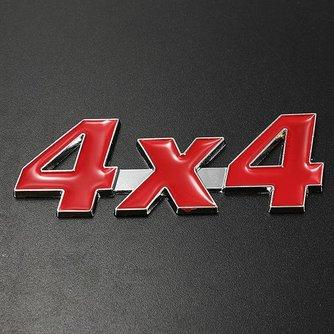 4x4 Sticker Voor Je Auto