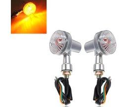 Motorlichten Richtingaanwijzers