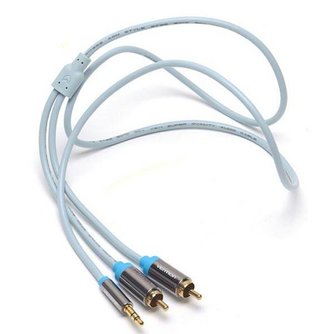 Vention AUX Kabel Male To 2RCA 5M