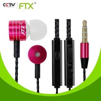 FTX Oordopjes Bass JTX F801 met Microfoon