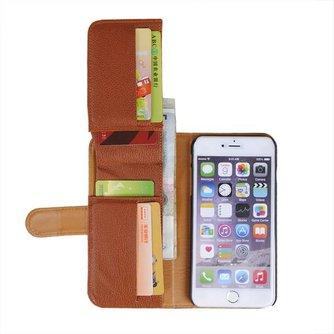Multifunctionele Portemonnee Hoes Voor iPhone 6 Plus