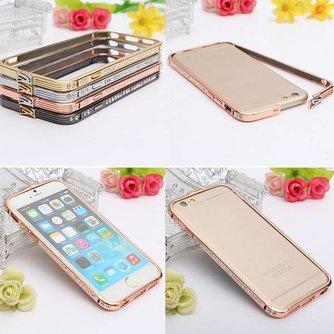 Bumper Met Diamantjes Voor iPhone 6