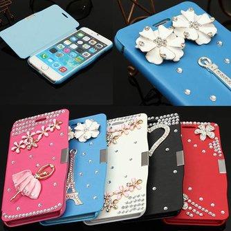 Portemonnee Hoes Voor iPhone 6 Met Diamantjes