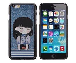 Cover voor iPhone 6 met Schoolmeisje