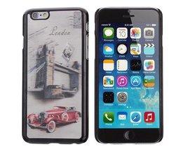 3D Hoesje Voor iPhone 6 Met  Oldtimer